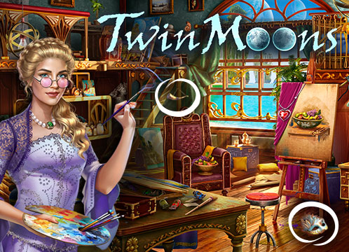Twin Moons®: Object Finding Game