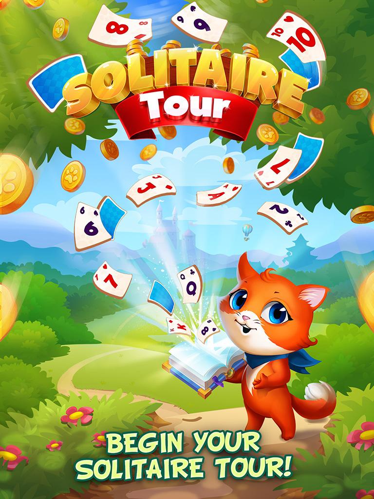 Solitaire Tour: Classic Tripeaks Card Games
