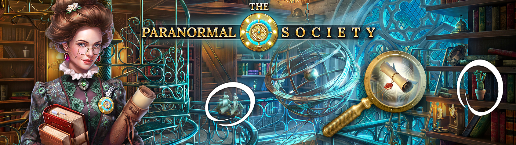 The Paranormal Society®: Hidden Object Adventure