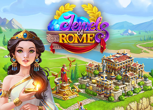 Jewels of Rome: Match 3 Puzzle