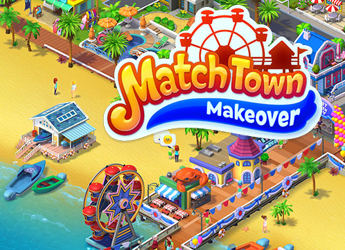 Match Town Makeover: Design