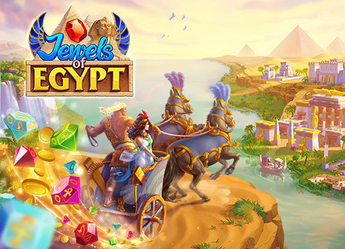 Jewels of Egypt: Match Game