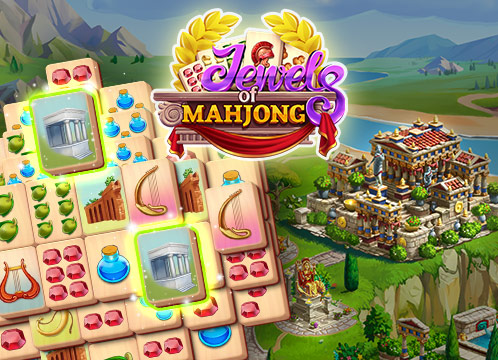 Jewels of the Mahjong: Match tiles to restore the city