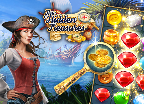 The Hidden Treasures: Hidden Object & Matching Game