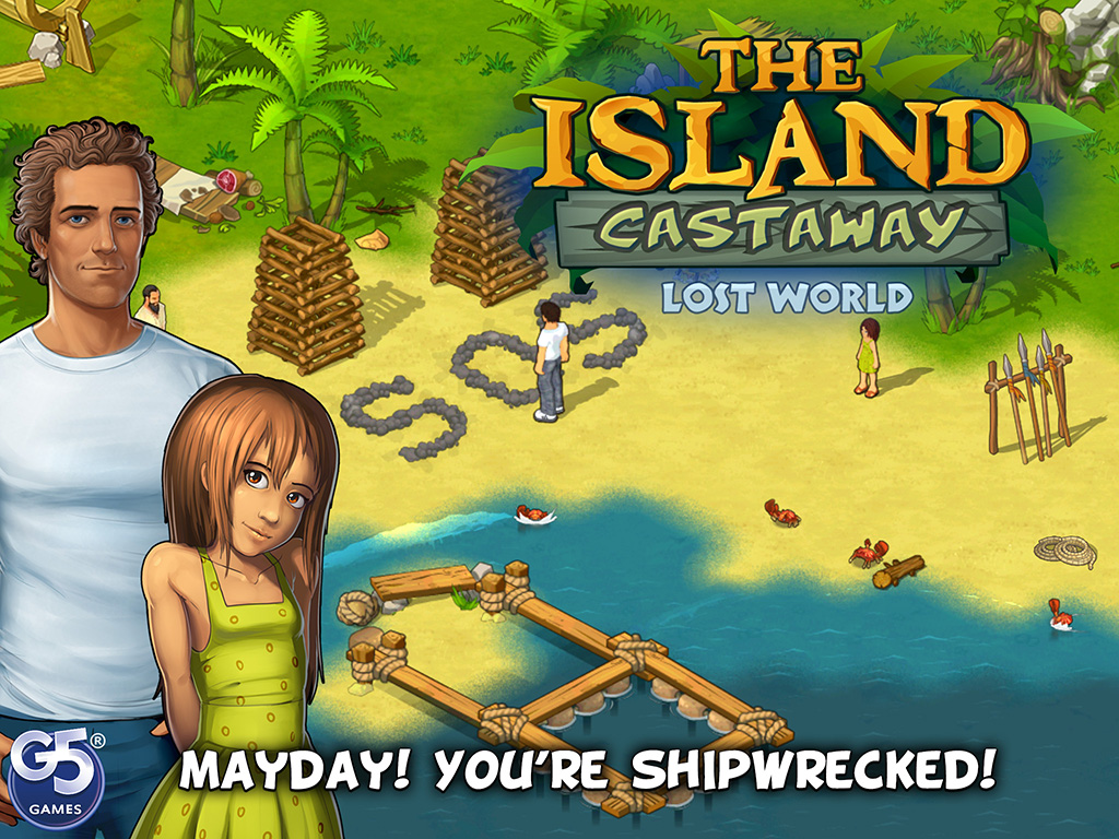 The Island Castaway: Lost World®