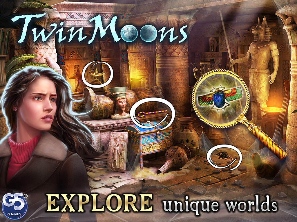 Twin Moons: Object Finding Game