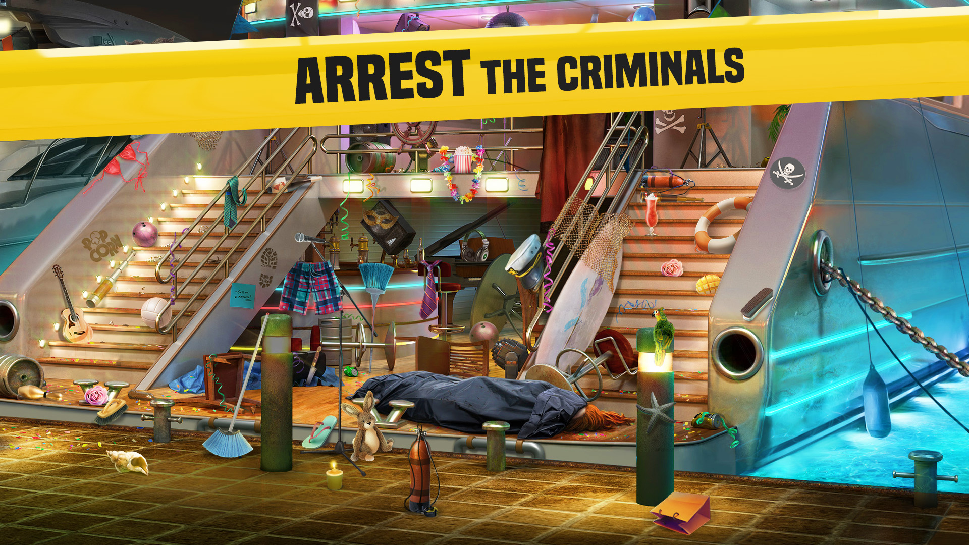 Homicide Squad: Hidden Object & Matching Puzzle Game