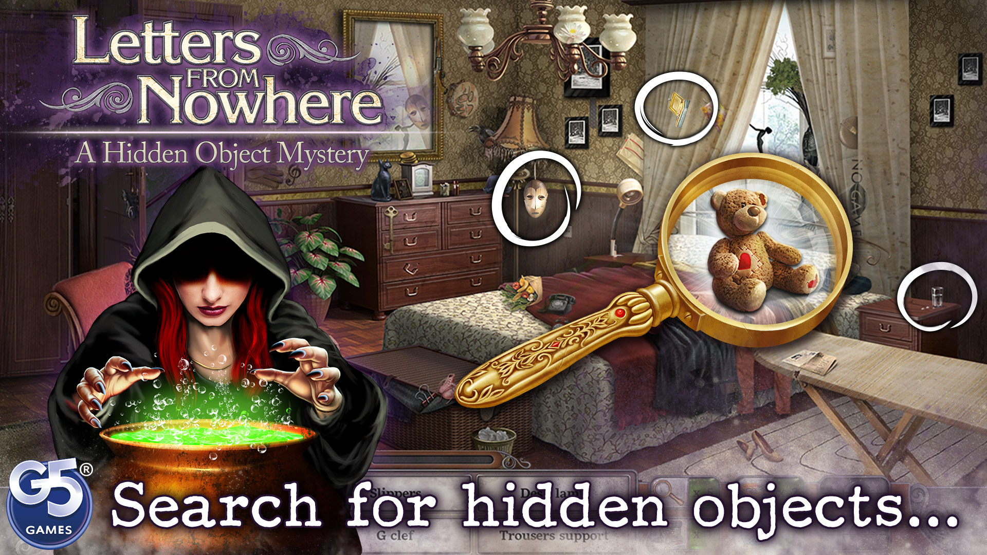 Letters From Nowhere: A Hidden Object Mystery