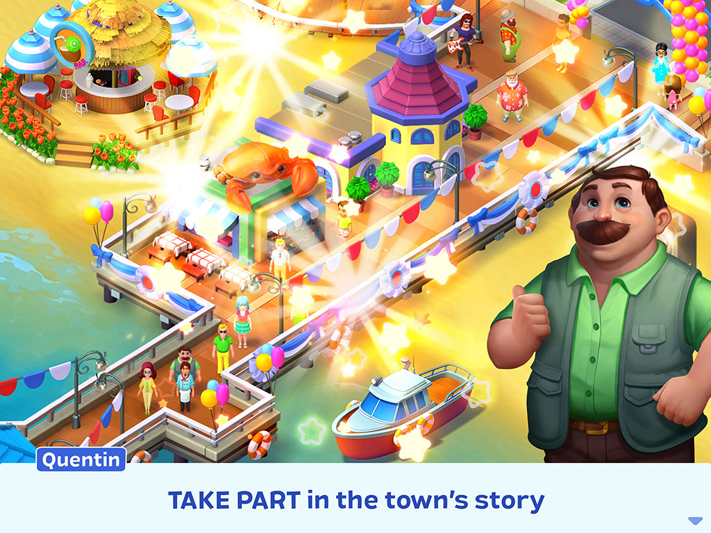 Match Town Makeover: Match 3 Puzzle and City Building Game