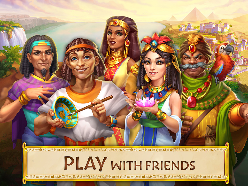 Jewels of Egypt: Match 3 Game