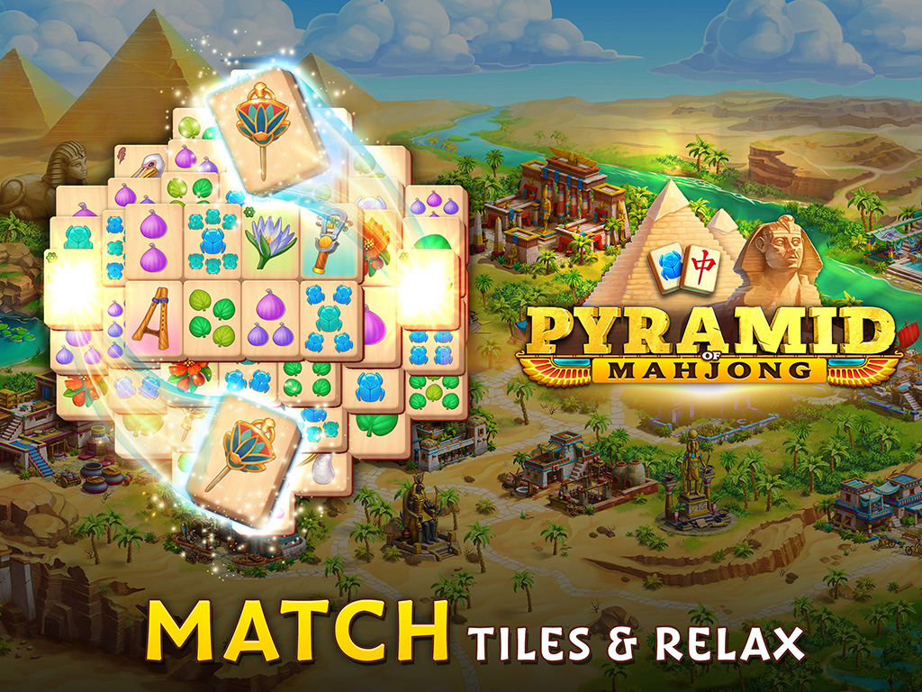 Pyramid of Mahjong: Tile Match