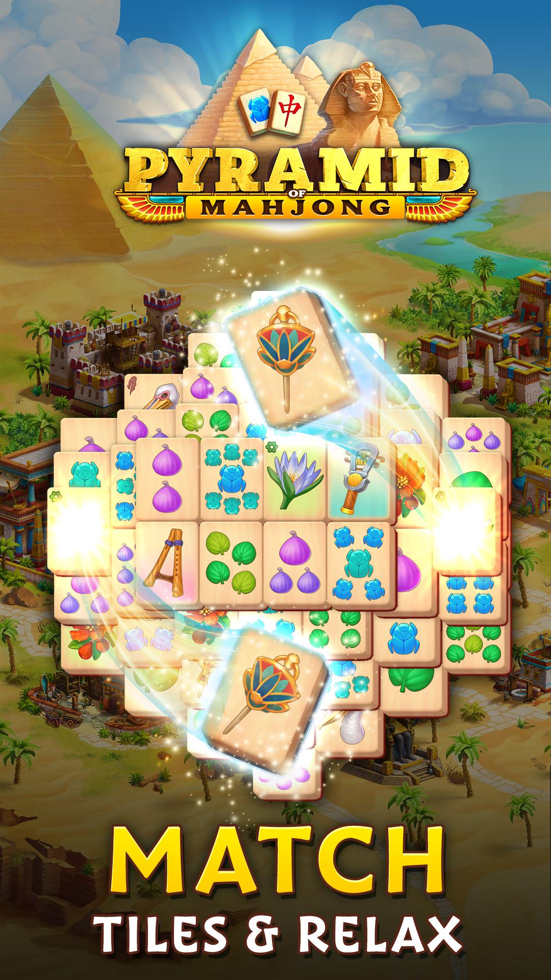 Pyramid of Mahjong: Tile Match