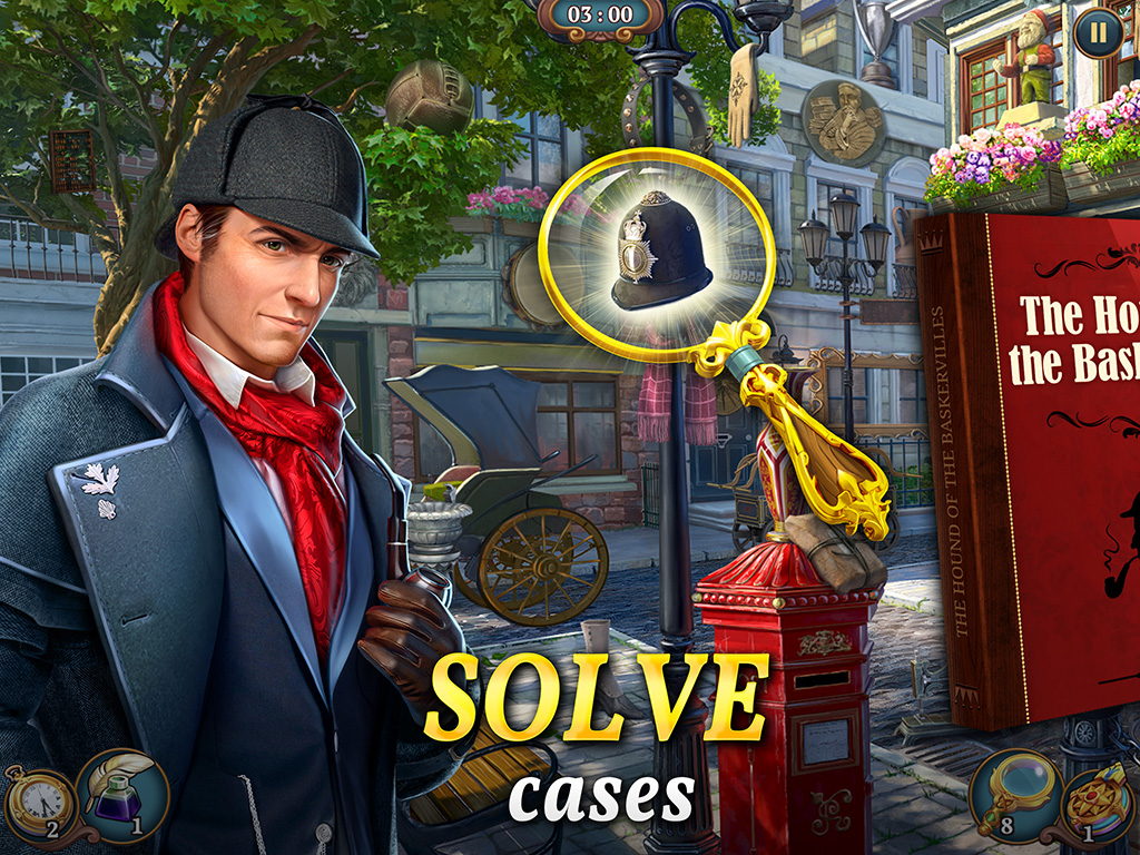 Sherlock: Hidden Match-3 Cases