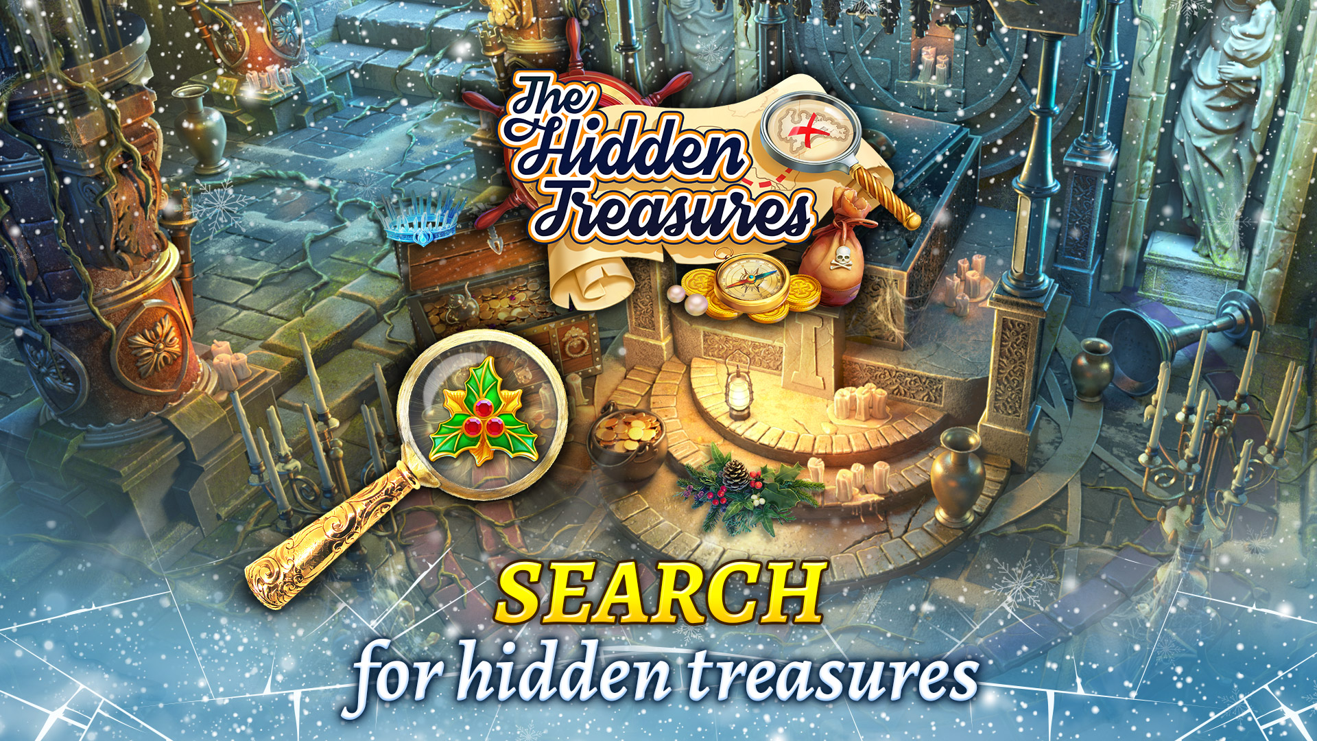 The Hidden Treasures: Find Hidden Objects & Mystery Match 3 Puzzle Game