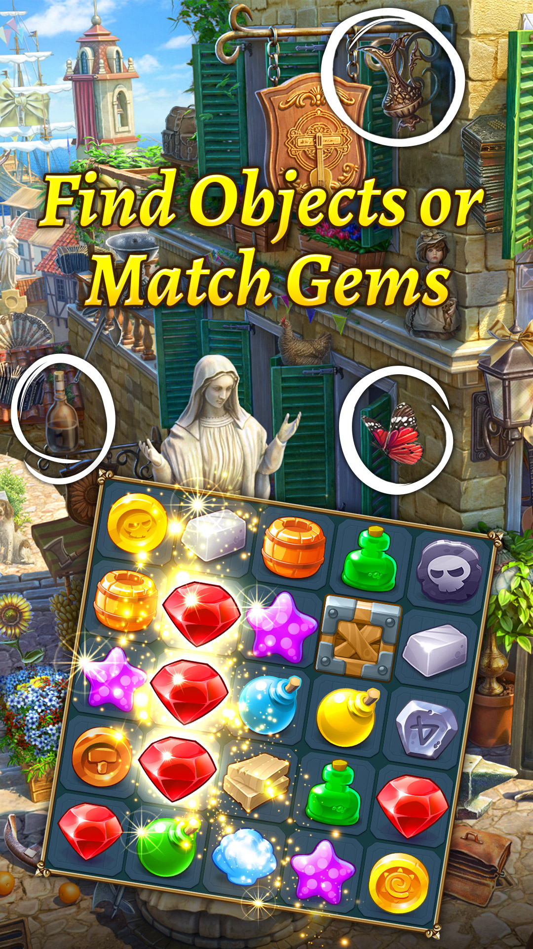 The Hidden Treasures: Seek & Find Mystery Objects