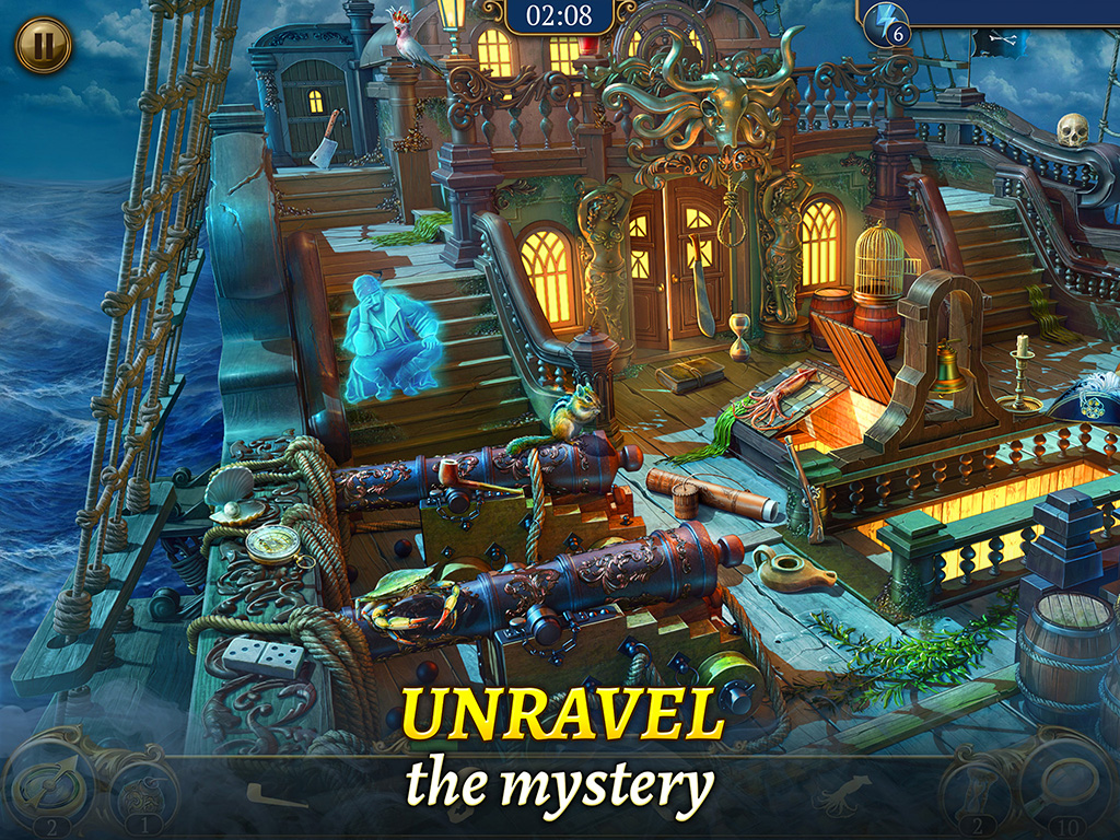 The Hidden Treasures Mystery: Search and find objects game