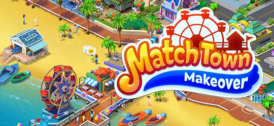Match Town Makeover:Match 3