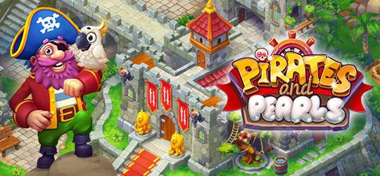 Pirates & Pearls: Match, build & design