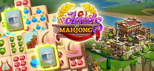 Jewels of Mahjong: Match tiles to restore the city