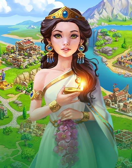 Jewels of Rome®: Reúna gemas e renove a cidade