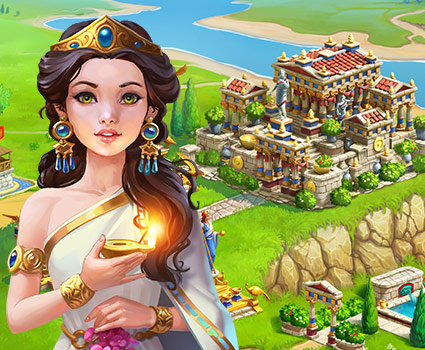 Jewels of Rome™: Match 3 Puzzle and City Building Game