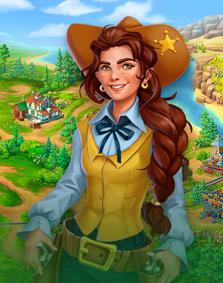 Jewels of the Wild West: Gems puzzles & Diamond quests