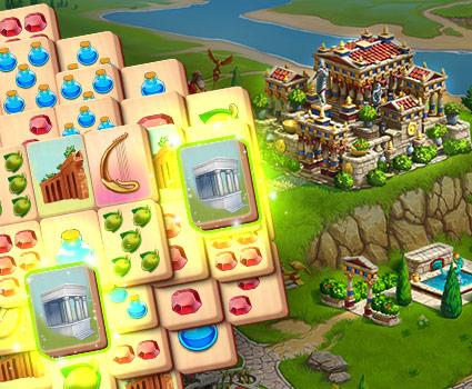 Emperor of Mahjong™: Match tiles & restore a city