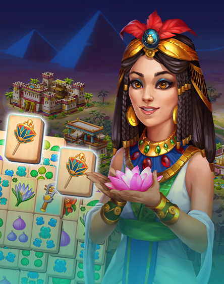 Pyramid of Mahjong: Master tile matching puzzle