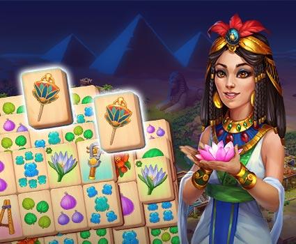 Pyramid of Mahjong